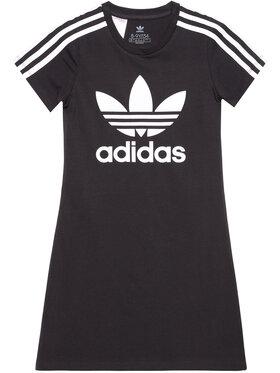 adidas adidas Každodenné šaty adicolor Skater FM5653 Čierna Regular Fit