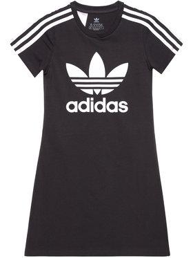 adidas adidas Sukienka codzienna adicolor Skater FM5653 Czarny Regular Fit