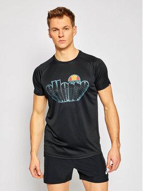 Ellesse Ellesse Тениска от техническо трико Duece SXG09856 Черен Regular Fit