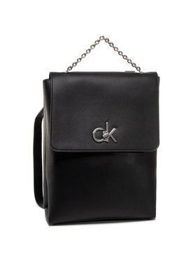 Calvin Klein Calvin Klein Kuprinė Re-Lock Backpack K60K606679 Juoda