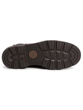 Ugg Ugg Kotníková obuv s elastickým prvkem M Baltmore Chelsea 1103789 Hnědá