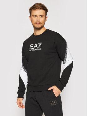 EA7 Emporio Armani EA7 Emporio Armani Bluza 6KPM28 PJ07Z 1200 Czarny Regular Fit
