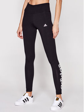 adidas adidas Leggings Loungewear Essentials Logo GL0633 Fekete Slim Fit