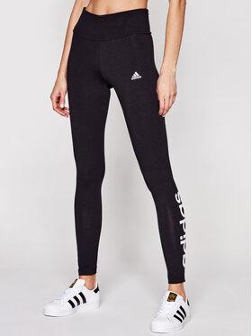 adidas adidas Legíny Loungewear Essentials Logo GL0633 Černá Slim Fit
