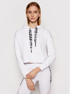 Guess Guess Sweatshirt Hooded O1GA61 KA3P1 Weiß Regular Fit