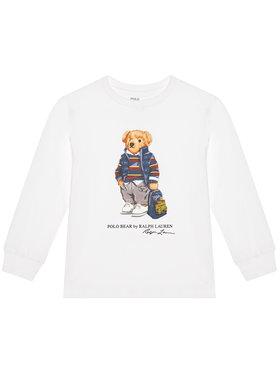 Polo Ralph Lauren Polo Ralph Lauren Блуза Ls Cn 322805681002 Бял Regular Fit