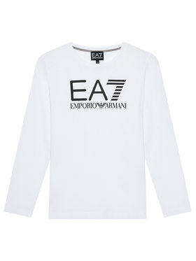 EA7 Emporio Armani EA7 Emporio Armani Bluză 6KBT58 BJ02Z 1100 Alb Regular Fit