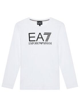 EA7 Emporio Armani EA7 Emporio Armani Bluzka 6KBT58 BJ02Z 1100 Biały Regular Fit