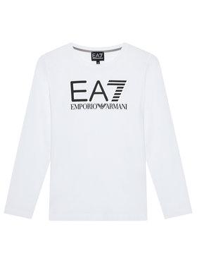EA7 Emporio Armani EA7 Emporio Armani Chemisier 6KBT58 BJ02Z 1100 Blanc Regular Fit