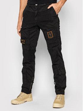 Aeronautica Militare Aeronautica Militare Spodnie materiałowe 212PA939CT83 Czarny Slim Fit