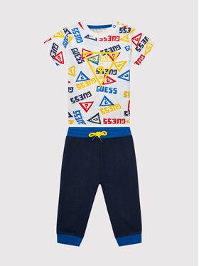 Guess Guess 2 db-os póló és nadrág szett I1YG00 K8HM0 Sötétkék Regular Fit