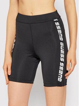 Guess Guess Pantaloni scurți sport Angelica O1GA89 MC03W Negru Slim Fit