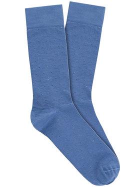 Vistula Vistula Pánské klasické ponožky Cantrell XZ1181 Modrá