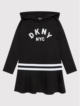 DKNY DKNY Každodenné šaty D32804 M Čierna Regular Fit