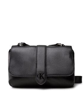 Calvin Klein Jeans Calvin Klein Jeans Handtasche Flap Crossbody K60K608268 Schwarz