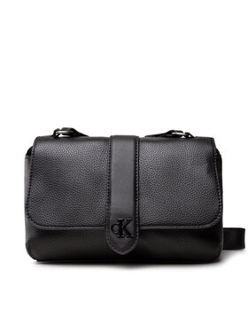 Calvin Klein Jeans Calvin Klein Jeans Sac à main Flap Crossbody K60K608268 Noir