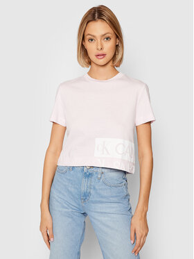 Calvin Klein Jeans Calvin Klein Jeans Póló J20J215324 Rózsaszín Regular Fit