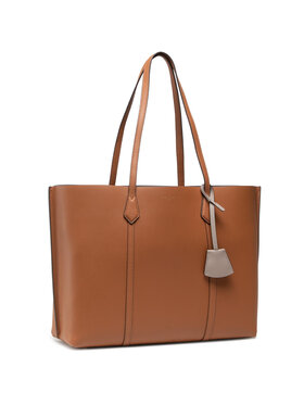 Tory Burch Tory Burch Torebka Perry Triple - Compartment Tote 8192 Brązowy