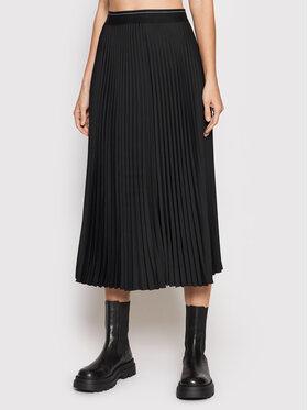 Calvin Klein Calvin Klein Spódnica plisowana K20K203222 Czarny Regular Fit