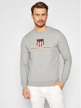 Gant Gant Sweatshirt Archive Shield 2046071 Gris Regular Fit