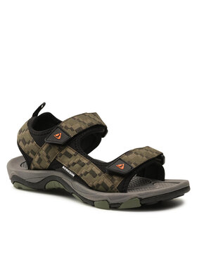 Bergson Bergson Sandály Benue Hiking Sandals Zelená