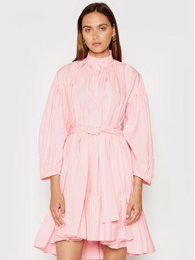 MSGM MSGM Každodenní šaty 3141MDA29 217603 Růžová Relaxed Fit