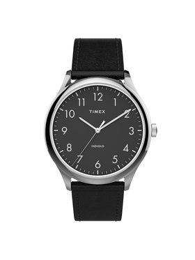 Timex Timex Laikrodis Modern Easy Reader TW2T71900 Juoda