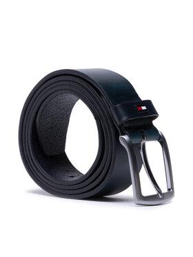 Tommy Hilfiger Tommy Hilfiger Cintura da uomo Denton Leather 3.5 AM0AM07644 Blu scuro