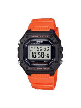 Casio Casio Hodinky W-218H-4B2VEF Oranžová