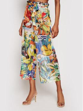 Desigual Desigual Pantaloni din material Fiji 21SWMK16 Colorat Relaxed Fit
