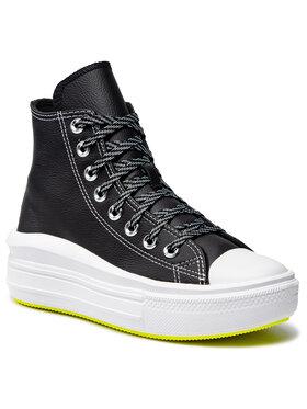 Converse Converse Plátěnky Ctas Move Hi 569542C Černá