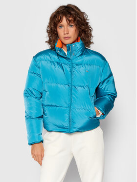 Tommy Jeans Tommy Jeans Kurtka puchowa Color Pop DW0DW11089 Niebieski Regular Fit