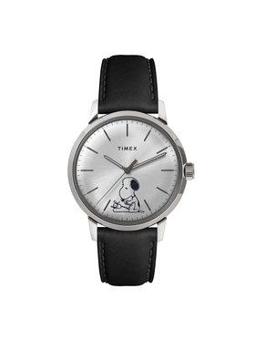 Timex Timex Hodinky Marlin TW2U71200 Čierna