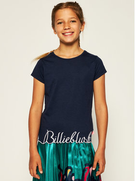 Billieblush Billieblush Marškinėliai U15733 Tamsiai mėlyna Regular Fit