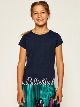 Billieblush Billieblush T-shirt U15733 Blu scuro Regular Fit