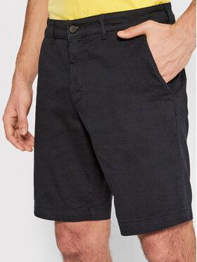 Lyle & Scott Lyle & Scott Pantaloncini di tessuto Chino SH800V Blu scuro Slim Fit