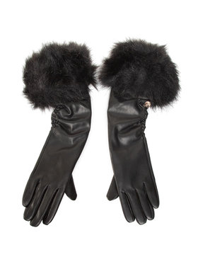 Guess Guess Damenhandschuhe Not Coordinated Gloves AW8536 POL02 Schwarz