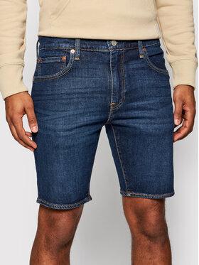 Levi's® Levi's® Džínsové šortky 412™ 39387-0021 Tmavomodrá Slim Fit