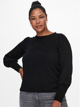 ONLY Carmakoma ONLY Carmakoma Sweter Mirla 15231765 Czarny Regular Fit
