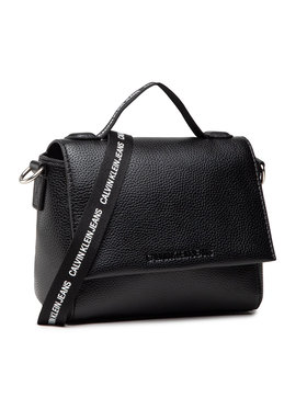 Calvin Klein Jeans Calvin Klein Jeans Дамска чанта Small Satchel K60K608267 Черен