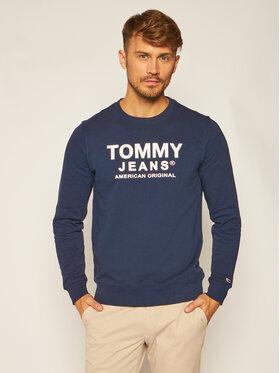 Tommy Jeans Tommy Jeans Mikina Essential Graphic DM0DM08405 Tmavomodrá Regular Fit