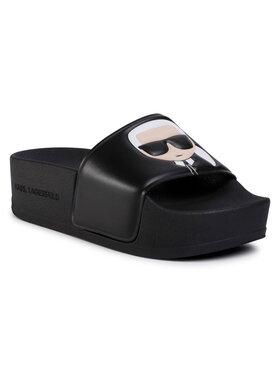 KARL LAGERFELD KARL LAGERFELD Mules / sandales de bain KL80805 Noir