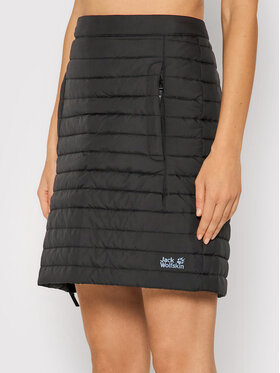 Jack Wolfskin Jack Wolfskin Mini suknja Iceguard 1503093 Crna Regular Fit
