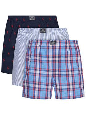 Polo Ralph Lauren Polo Ralph Lauren Set 3 perechi de boxeri 714830273004 Colorat