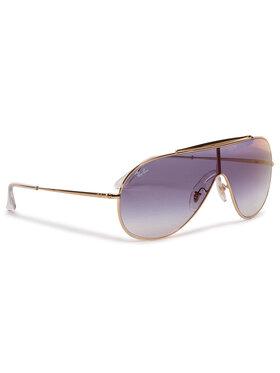 Ray-Ban Ray-Ban Okulary przeciwsłoneczne Wings 0RB3597 001/X0 Złoty
