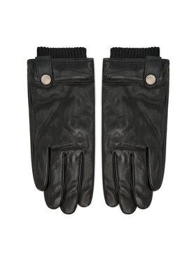 Jack&Jones Jack&Jones Pánske rukavice Jacrichard 12196019 Čierna