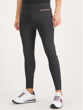 Tommy Sport Tommy Sport Leggings Stretch Compression S20S200218 Nero Regular Fit