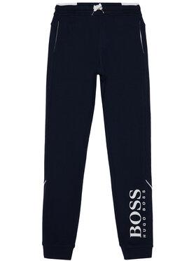 Boss Boss Teplákové kalhoty J24J35 D Tmavomodrá Regular Fit