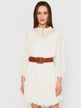 Liu Jo Liu Jo Sukienka codzienna WA1236 T5960 Biały Regular Fit
