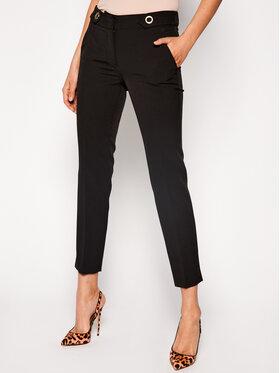 Trussardi Jeans Trussardi Jeans Medžiaginės kelnės 56P00180 Juoda Regular Fit